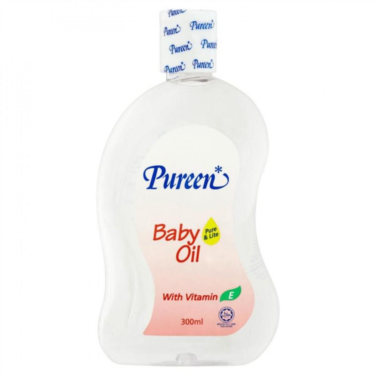 Pureen Baby Oil (300ml) - Kico Baby Center