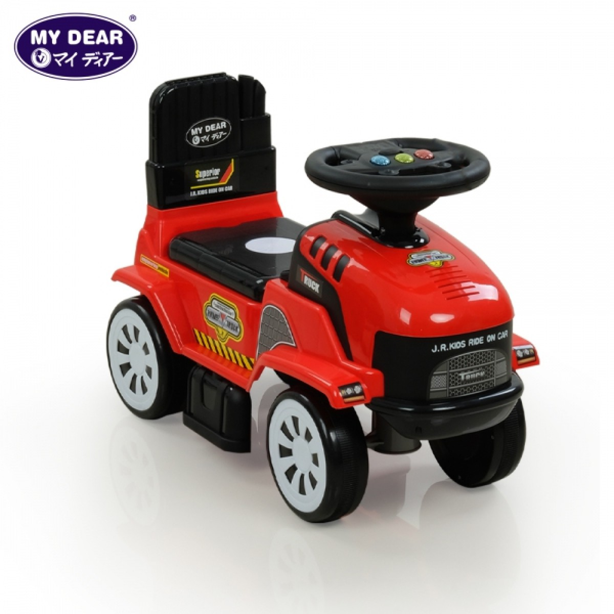 (JR913C-1) POWER TRUCK RIDE ON CAR WITH SOUND - Kico Baby Center