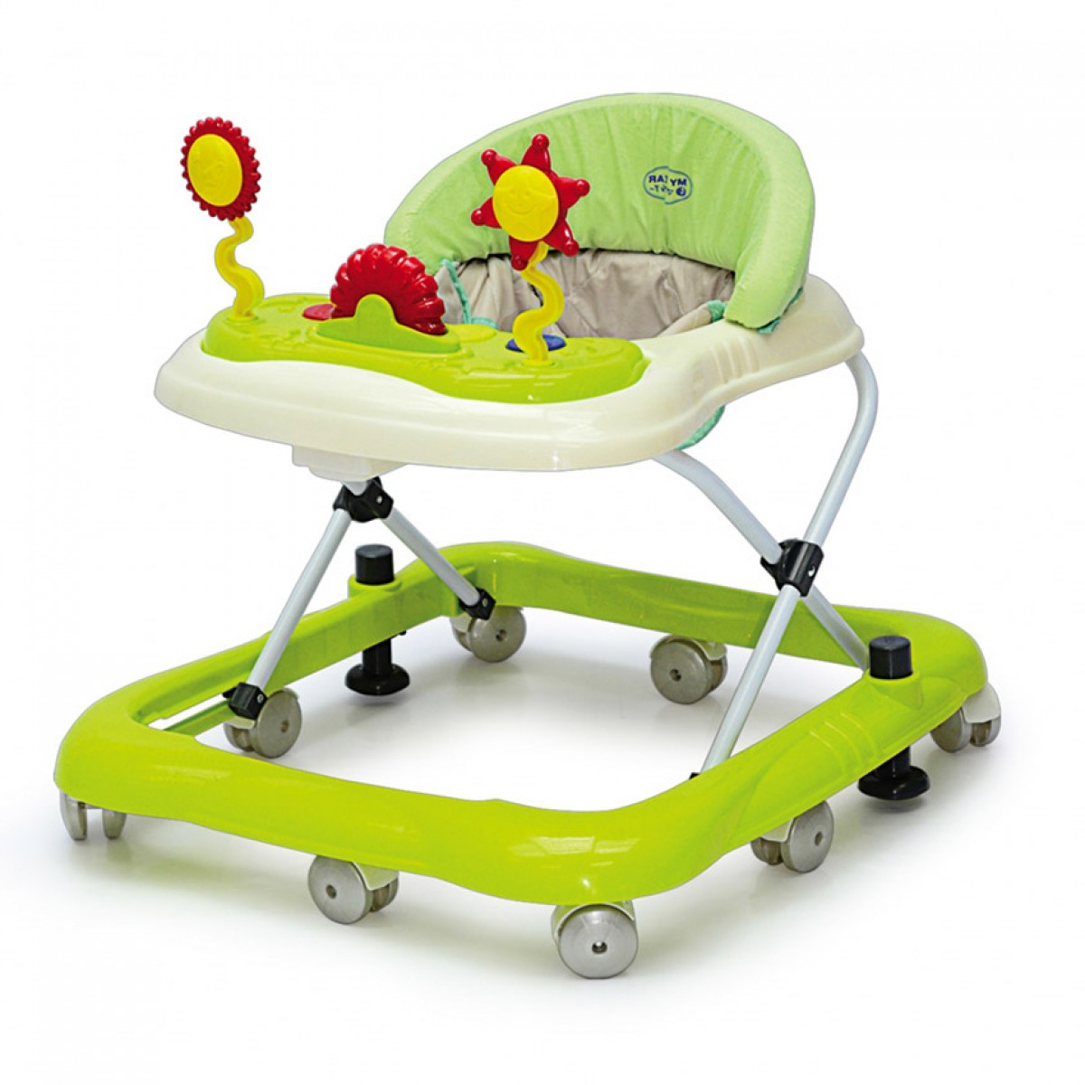 Sun Baby Walker With Stopper (New Stock) - Kico Baby Center