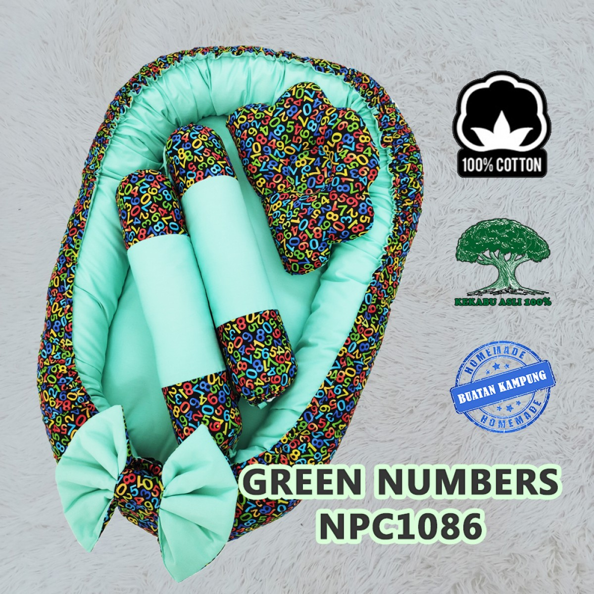 Green Numbers - Kico Baby Center