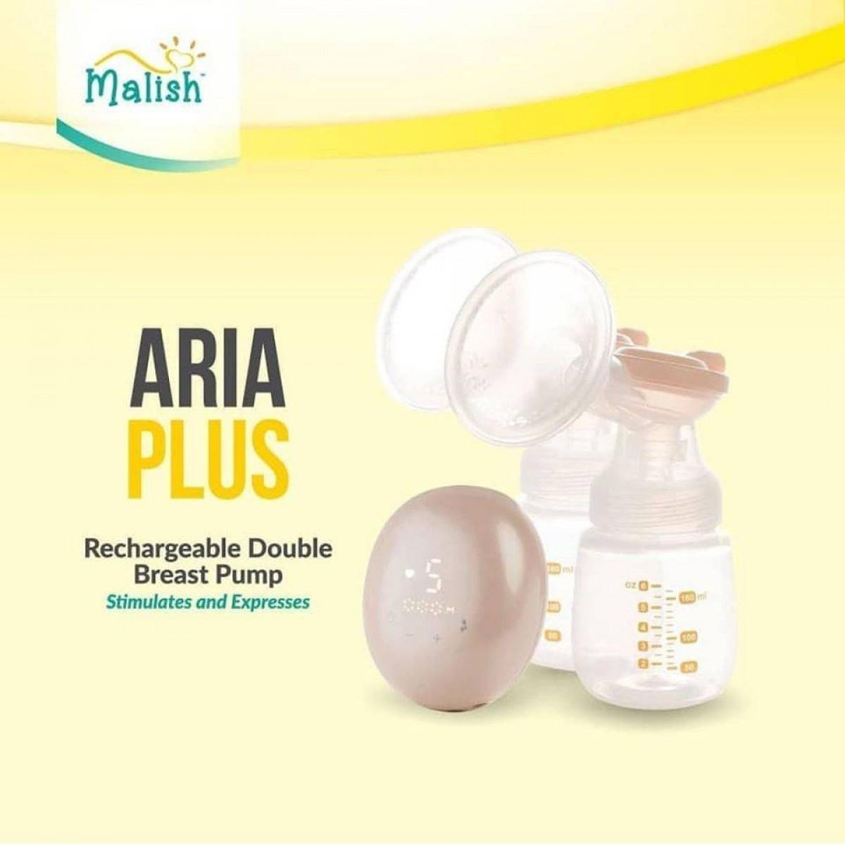 Malish Aria Plus Electic Rechargeble Double Pump - Kico Baby Center