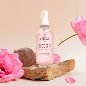 Elixxi Rose Hibiscus Coconut Water Hydrating Face Mist