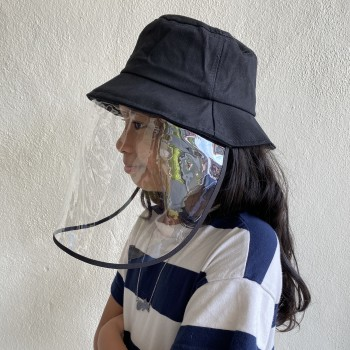 FOR KIDS - Bucket Hat with Face Shield