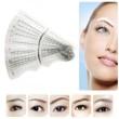 12pcs Reusable Eyebrow Stencil Kit - Nana Mahazan Beauty
