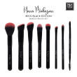 8 PCS BLACK EDITION MAKEUP BRUSH - Nana Mahazan Beauty