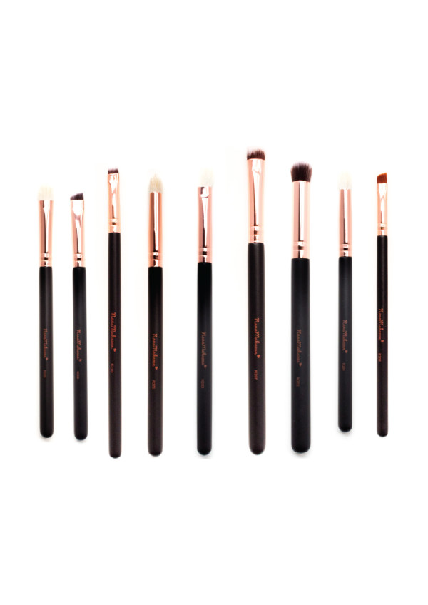 9pcs Eye set Professional Make Up Brush by Nana Mahazan - Nana Mahazan Beauty