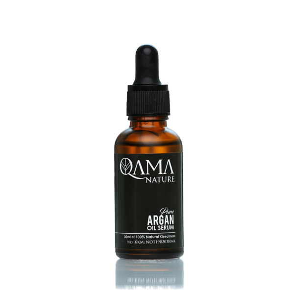 Pure Argan Oil Serum by Qama Nature - Nana Mahazan Beauty