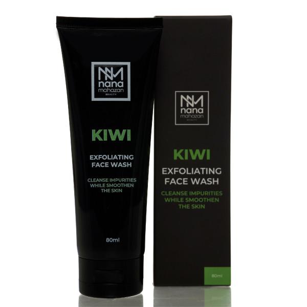 KIWI EXFOLIATING FACE WASH - Nana Mahazan Beauty