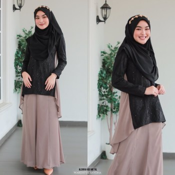 ALDORA FISHTAIL PEPLUM AS-IS
