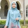 SQUARE PLAIN 3.0 - Wardatul Baydha Hijab