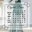 CRYSTAL DRESS - Wardatul Baydha Hijab