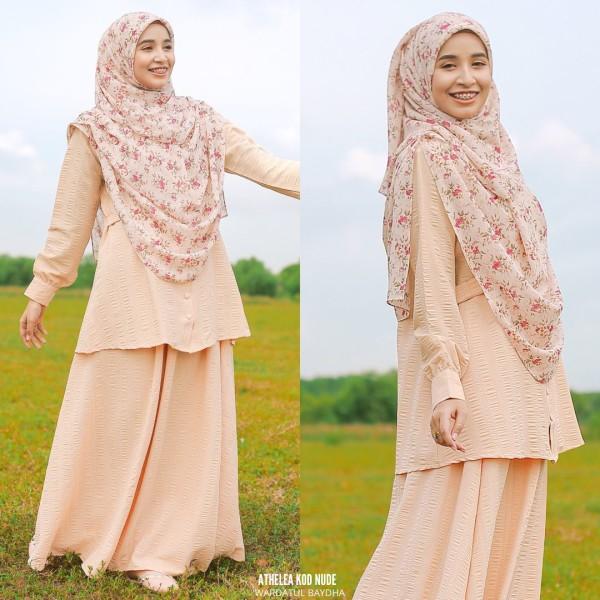 ATHELEA SET - Wardatul Baydha Hijab
