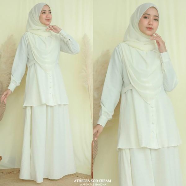ATHELEA SET 2.0 - Wardatul Baydha Hijab
