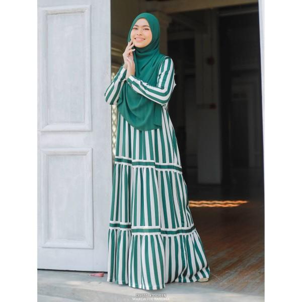 CRYSTAL DRESS - Wardatul Baydha Hijab