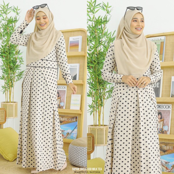SOPHIE DRESS - Wardatul Baydha Hijab
