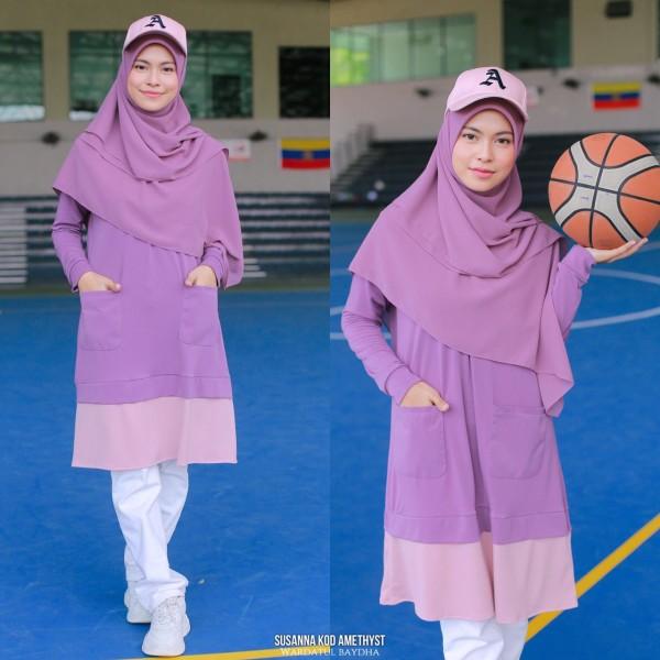 SUSANNA TUNIC AS-IS - Wardatul Baydha Hijab