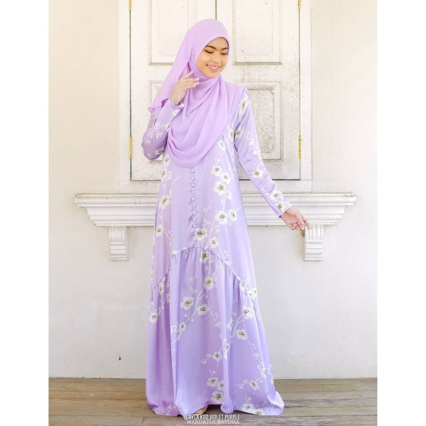 CAYLA DRESS - Wardatul Baydha Hijab