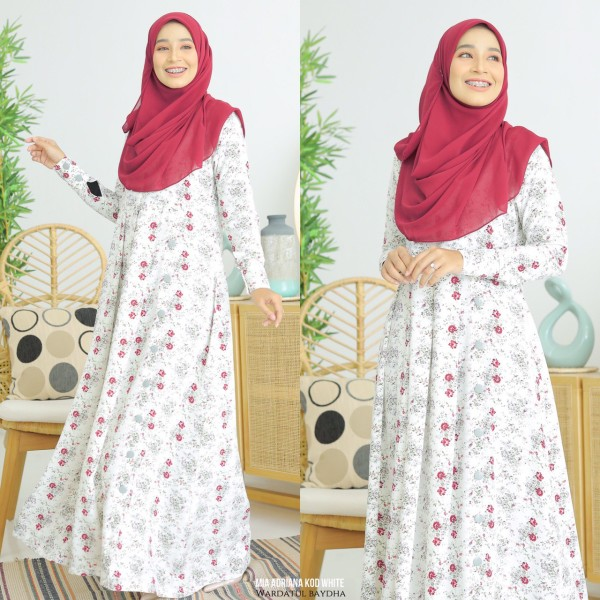 MIA ADRIANA DRESS - Wardatul Baydha Hijab