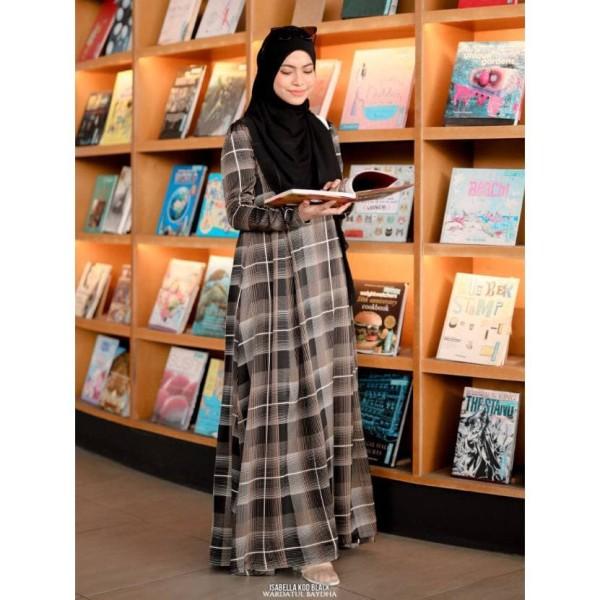 ISABELLA DRESS - Wardatul Baydha Hijab