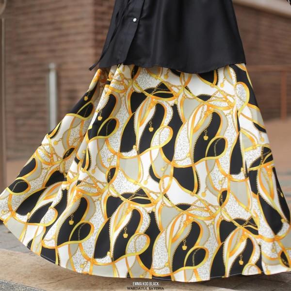 EMMA FLARE SKIRT - Wardatul Baydha Hijab