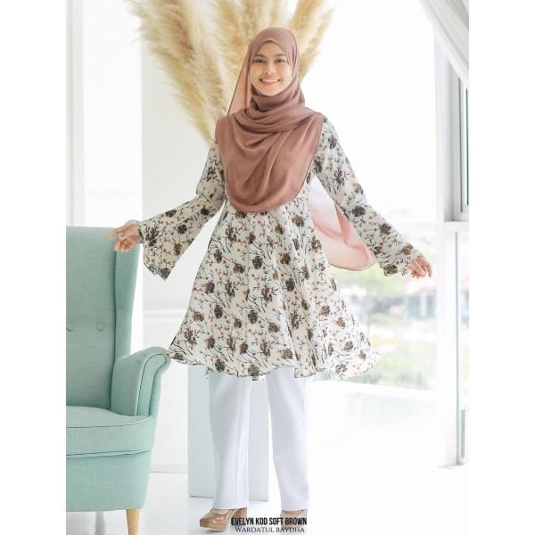 EVELYN PEPLUM - Wardatul Baydha Hijab