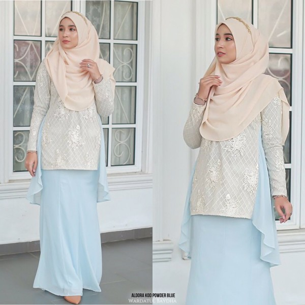 ALDORA FISHTAIL PEPLUM - Wardatul Baydha Hijab