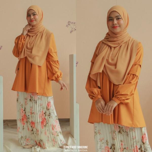 CLOVER BLOUSE - Wardatul Baydha Hijab