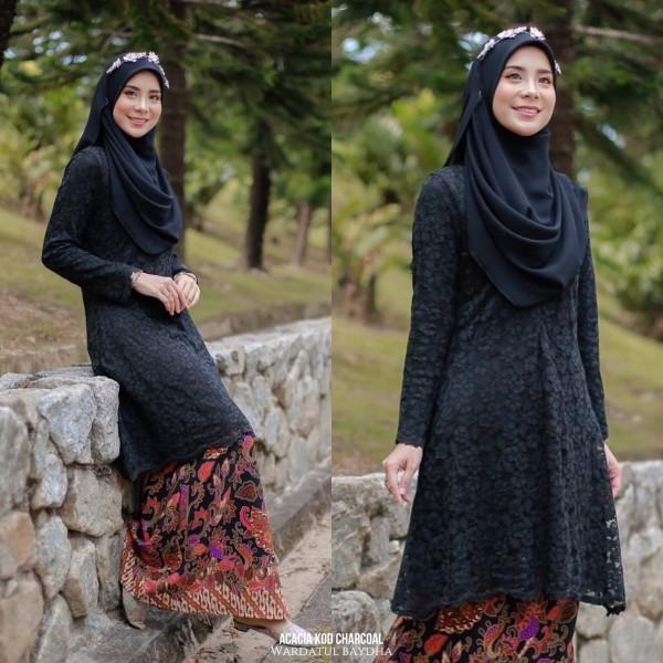 ACACIA KURUNG LACE AS-IS - Wardatul Baydha Hijab