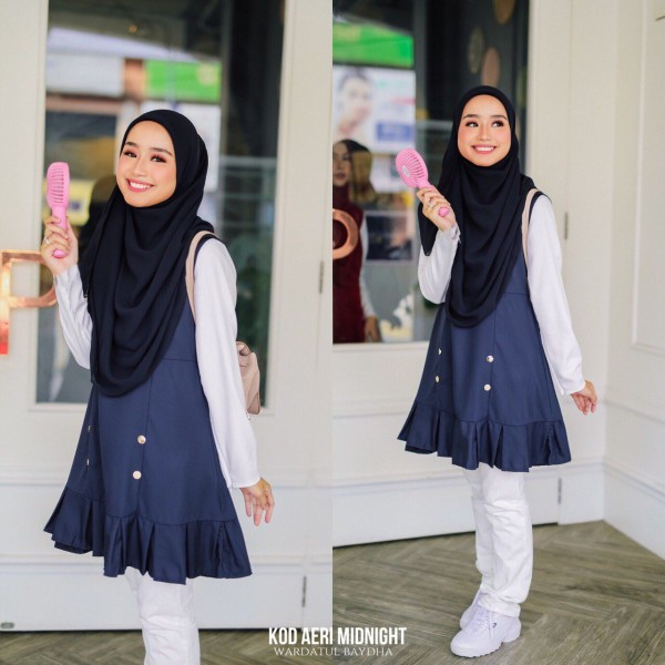 AE-RI PEPLUM AS-IS (DEFECT) - Wardatul Baydha Hijab