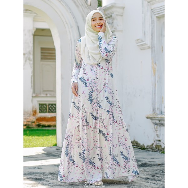 CAYLA DRESS AS-IS (DEFECT) - Wardatul Baydha Hijab