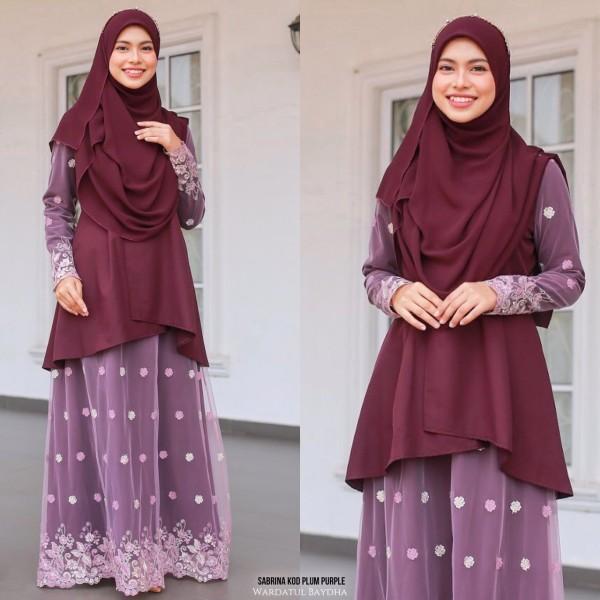 SABRINA KURUNG - Wardatul Baydha Hijab