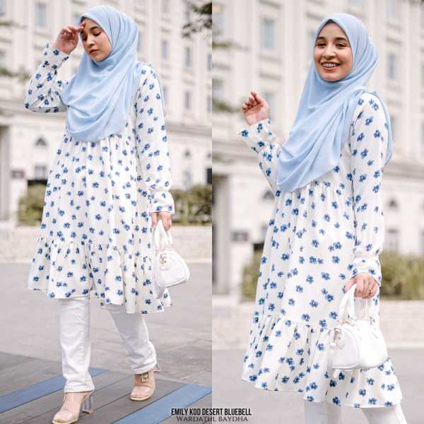 EMILY TUNIC - Wardatul Baydha Hijab