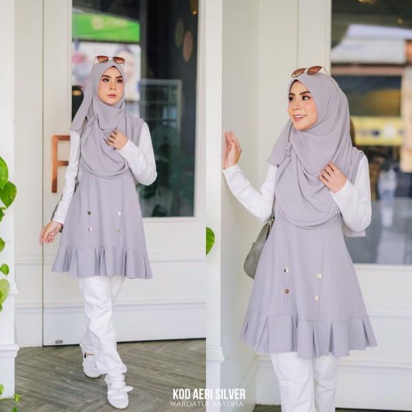 AE-RI PEPLUM AS-IS (DEFECT) - Wardatul Baydha Hijab