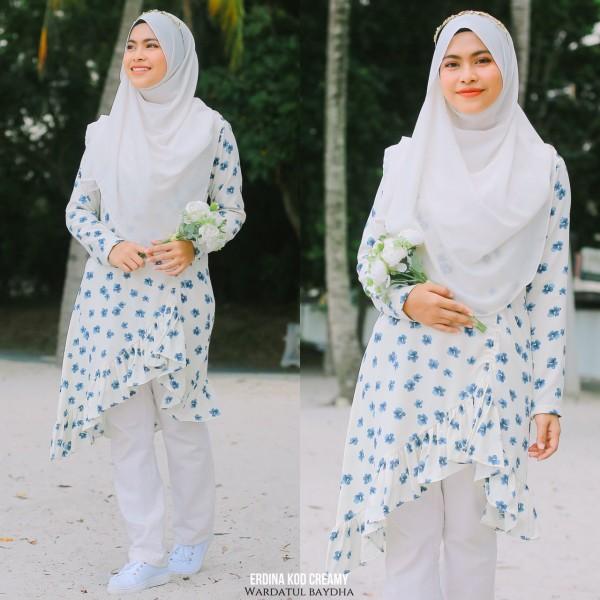 ERDINA TUNIC 2.0 AS-IS (DEFECT) - Wardatul Baydha Hijab