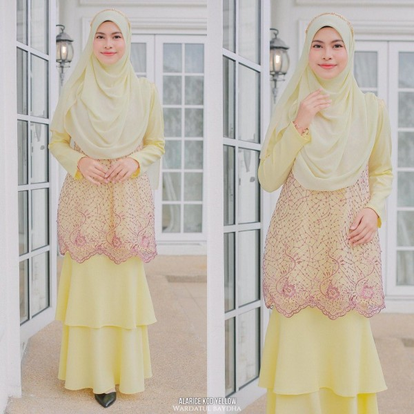 ALARICE KURUNG - Wardatul Baydha Hijab