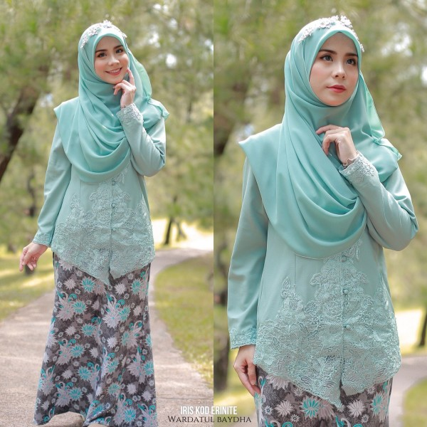 IRIS KEBAYA AS-IS - Wardatul Baydha Hijab