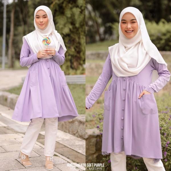 AURELLIA TUNIC - Wardatul Baydha Hijab