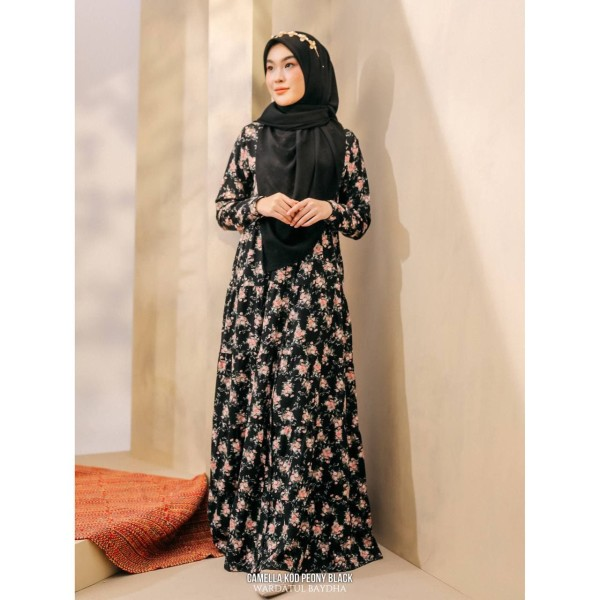 CAMELLA DRESS  - Wardatul Baydha Hijab