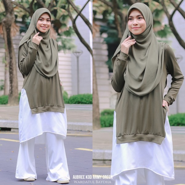 AUBREE TUNIC AS-IS DEFECT - Wardatul Baydha Hijab