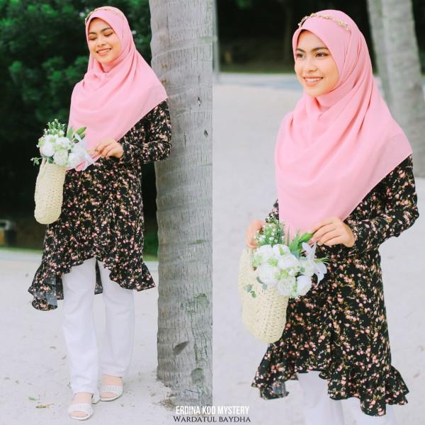 ERDINA TUNIC 2.0 - Wardatul Baydha Hijab