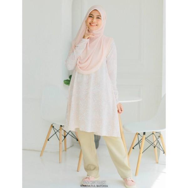 FIONA TUNIC - Wardatul Baydha Hijab