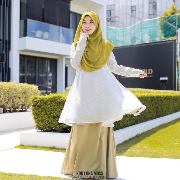 LUNA PEPLUM AS-IS - Wardatul Baydha Hijab