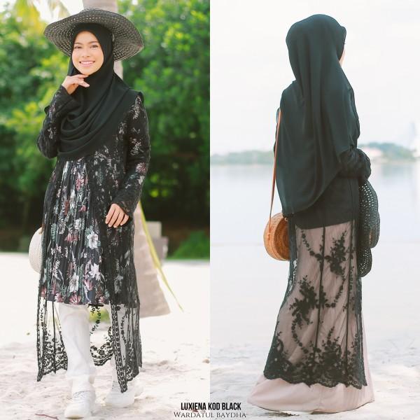 LUXIENA LACE CARDIGAN  - Wardatul Baydha Hijab