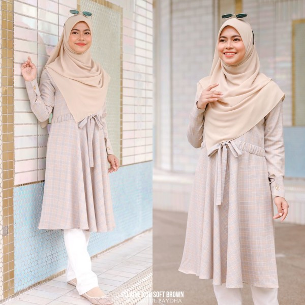 ELLAINE BLOUSE - Wardatul Baydha Hijab