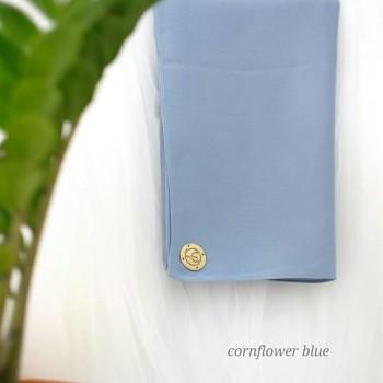 KAYLA KHIMAR IN CORN FLOWER BLUE