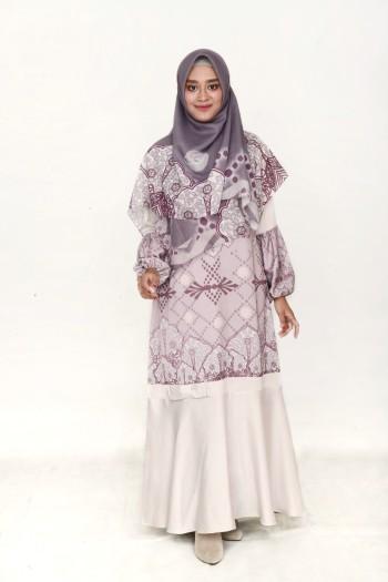 ALHMABRA DRESS GREY