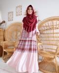 GHANIA ETHNIC DRESS - CANDY PINK - GDa'S by Ghaida Tsurayya