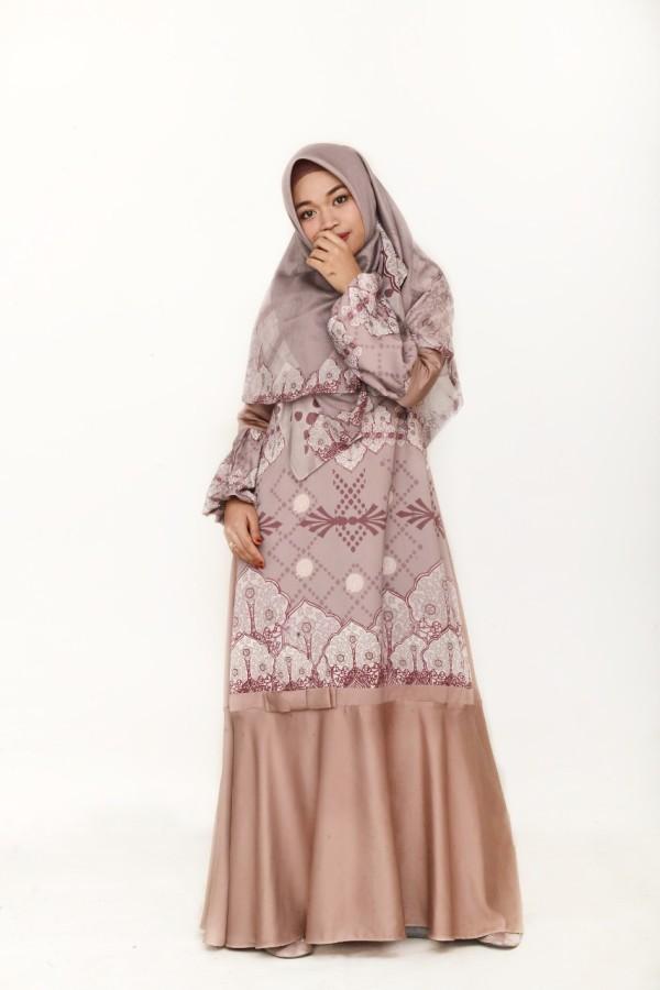 ALHAMBRA DRESS ROSEGOLD - GDa'S by Ghaida Tsurayya