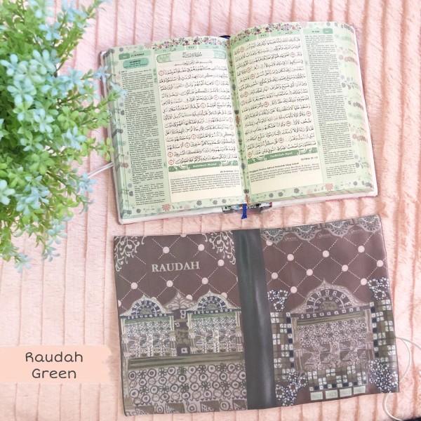 GDAS LOVE ALQURAN RAUDAH GREEN - GDa'S by Ghaida Tsurayya
