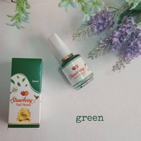 STRAWBERRY NAIL HENNA GREEN - GDa'S by Ghaida Tsurayya